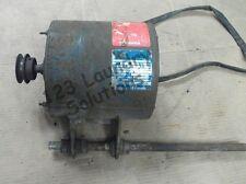 Washer Motor Dexter T400 3ph 208 240v Pn 9376293001 Used