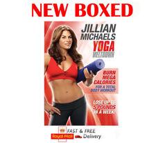 Jillian Michaels tracollo Yoga Allenamento Fitness Casa Nuovo in Scatola Uk REGIONE 2 DVD