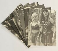 """XENA Warrior Princess """"The Chakram"""" Official Fan Club Newsletter - Lot of 7"""