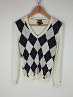 TOMMY HILFIGER Maglione Cardigan Sweater Jumper Pullover Tg XS Uomo Man