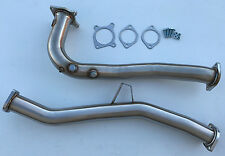 2015 - 2017 WRX auto downpipe catless 3x o2 bung automatic down-pipe 1320