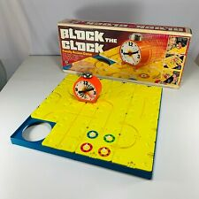 Vintage 80's Block The Clock Family Action Game - Complete By IDEAL