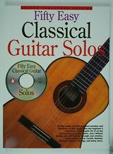 50 Easy Classical Guitar Solos by Jerry Willard (Trade Paper / Mixed Media)