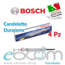 0250212011 4 x candelette Bosch Hyundai i10 i20 i30 Kia Rio Venga Cee'd Soul