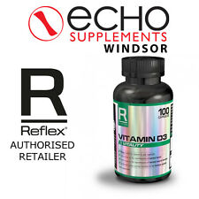 Reflex Nutrition Vitamin D3 (100) - Ultra Pure Top Quality - FREE Delivery!