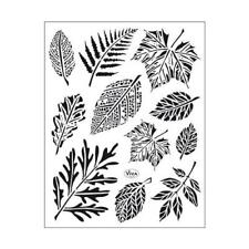 Viva Decor A5 Clear Silicone Stamps Set - Leaves #164