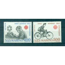 Saint-Marin 1983 - Mi. n. 1280/1281 - Année mondiale des communications