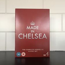 Made In Chelsea DVD Series 1-5 DVD 14 Disc Set Good Condition -Tested Played