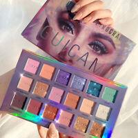 Pro 18 Colors Eyeshadow Palette Pigmented Matte Shimmer Eye Shadow Makeup Kit
