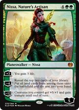 (Foil) NISSA, NATURE'S ARTISAN Kaladesh MTG Green Planeswalker Mythic Rare