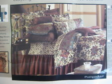 Dan River Pompadour King Size 8 Piece Bed In A Bag Complete Set