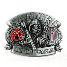 Sons of Anarchy Grim Reaper Metal belt buckle  Gürtelschnalle