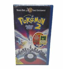 POKEMON 2 La Forza di Uno with Promo Card VHS NEW FACTORY SEALED ITA RARE NO DVD
