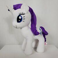 "My Little Pony Rarity Friendship is Magic Plush Stuffed Animal 14"" Diamonds Toy"