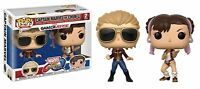 Funko POP! Marvel vs Capcom Infinite: Captain Marvel vs Chun-Li - 2 Pack NEW