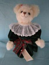 Hermann Mohair Nelli'S Christmas Teddy Bear W Growler Le 79/500 Old World X-Mas