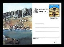 SPAIN - SPAGNA - 1989 - Cart. Post. - SORIA-LAGUNA NEGRA. URBION. 18 pt, chiesa