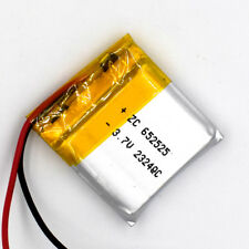 3.7V 500 mAh 652525 Li-Polymer Rechargeable Battery Li Po for GPS Bluetooth MP3