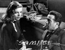 1946 Bogart & Bacall The Big Sleep Movie Photo (134-a )