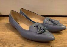 LK Bennett Cornflower blue flat shoe 38