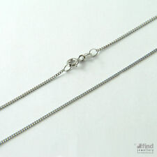 9 Carat White Gold Fine Necklaces & Pendants without Stone