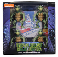 NECA Teenage Mutant Ninja Baby Turtles Set 1990 Movie 1/4 Scale Action Figures