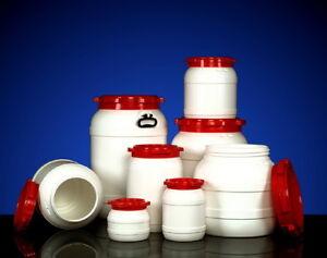 Plastic Waterproof Airtight Watertight Storage Kegs Drums Barrels 3.6 - 110 Ltr!