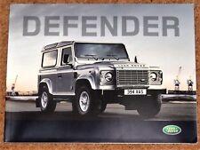 2008 LAND ROVER DEFENDER Sales Brochure (ITALIAN MARKET) Pickup SW Crew Cab