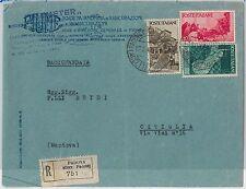 47353 - ITALIA - Storia Postale: AVVENTO REPUBBLICA  su BUSTA raccomandata 1947