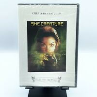 "DVD ""She Creature"" / avec Rufus Sewell / de Sebastian Gutierrez / NEUF Scellé"
