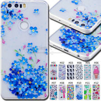 For Huawei Honor 8 Shockproof Back TPU Silicone Protective Soft Case Skin Cover