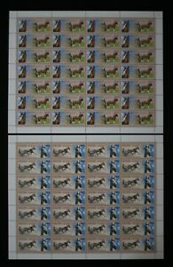 Russia 2007 Domestic horse breeds 1209-1212 MNH