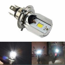 H4 White Motorcycle LED Bulb Hi/Lo Beam Front Head Light Lamp For Honda Harley