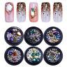 Kaviar Perlen Pearl Scharfer Boden Nagel Straßsteinen 3D Nail Art Dekoration DIY