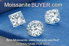 MOISSANITEBUYER.COM Premium Domain Name sale loose moissanite or jewelry on line