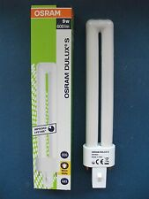 10 x OSRAM - Dulux S - 9 Watt/830 Warm White - G23/2-Pin - 600 lm