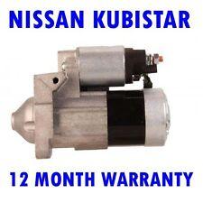 NISSAN KUBISTAR 1.5 DCI MPV BOX 2003 2004 2005 2006  - 2015 RMFD STARTER MOTOR