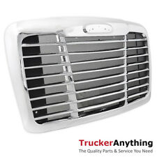 Freightliner Cascadia 2008-2017 Triple Chrome Front Grille With Bugscreen