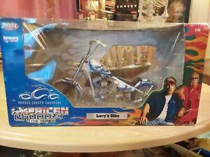 ERTL JOYRIDE 1/10 LUCY'S BIKE AMERICAN CHOPPER TV SERIES MOTORCYCLE BIKE USED