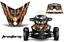AMR Racing Can Am BRP RTS Spyder Hood Graphic Kit Wrap Roadster Decals FSTORM K