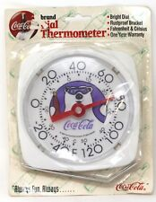 1994 Taylor Coca Cola Polar Bear Dial Thermometer 5 1/4 in. X 5 1/2 in.