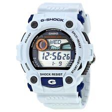 Casio G-Shock Mens Digital Wrist Watch G7900A-7 G-7900A-7 Moon Tide Tables White