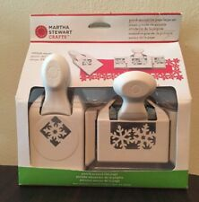 Discontinued Martha Stewart Crafts Punch Around the Page Winter Snow Christmas