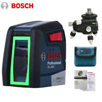 Bosch GLL30G Laser Level High Precision Two-Line Horizontal Vertical Beam Line