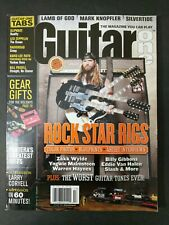 Rock Start Rigs Guitar One Magazine Zakk Wylde Van Halen Malmsteen Holiday 2004!