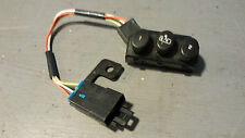 2005-2013; C6; Seat Adjuster Memory Switch and Harness; LH Driver; USED