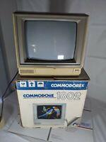 VTG Commodore 1802 w/ Box ☆ Rare Color Monitor Computer Part ☆ POWERS ON