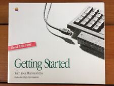 Vtg Apple 1991 Macintosh Mac 2si IIsi Getting Started Owner Guide Manual Booklet