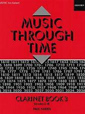 Music Through Time Clarinet & Piano Book 3 Pub 1992 by Paul Harris B25