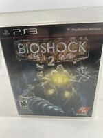 BioShock 2 PS3 Sony PlayStation 3 Tested Disc Manual Case